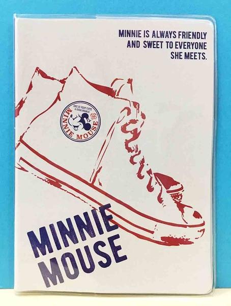 【震撼精品百貨】 Micky Mouse_米奇/米妮 ~證件套/收納套-布鞋白#49015