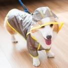 狗狗雨衣護肚子雨披