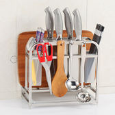 不鏽鋼刀架廚房用品砧板菜刀架菜板刀具架子刀座置物架收納架MJBL