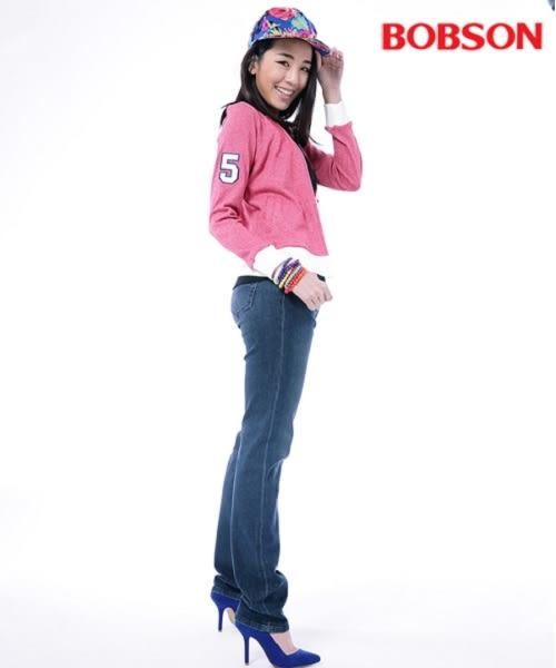 BOBSON 女款刺繡花紗外套(24078-16)