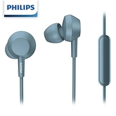 PHILIPS 飛利浦TAE4105BL 入耳式耳麥藍色