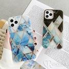 雙面覆膜電鍍大理石 IMD 防摔殼 iPhone 12 11 Pro Max XR Xs 7/8 SE2 蘋果 手機殼