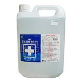 【天乾】75%潔菌酒精液 酒精 單桶 乙類成藥 4公升/桶