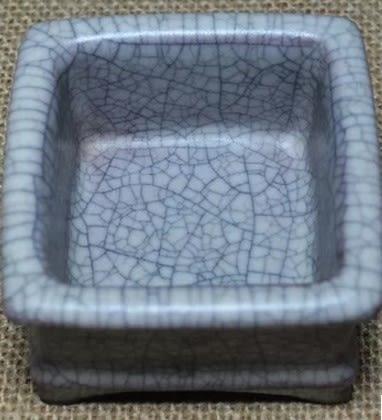 [協貿國際]  青瓷方型爐老古董擺件 (1入)