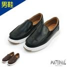 男鞋 知性皮感懶人鞋 MA女鞋 T266...