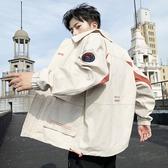 男士外套秋冬2020新款韓版潮流秋季學生工裝上衣牛仔春秋夾克秋裝
