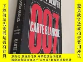 二手書博民逛書店英文原版罕見Carte BlancheY340108 Jeffe