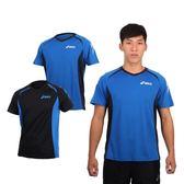 ASICS 男運動排汗短袖T恤 (免運 慢跑 路跑 亞瑟士≡排汗專家≡
