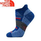 【The North Face 美國 運動羊毛跑步襪《藍/黑/深紅》】3CNN/美麗諾羊毛/彈性避震/吸濕排汗★滿額送