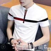 衛衣夏季男士短袖t恤潮流打底衫半袖男裝韓版上衣服秋季 貝芙莉