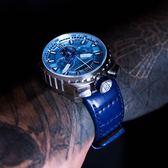 BOMBERG 炸彈錶 BOLT-68 冰川藍洞計時手錶-/45mm BS45CHSS.050-7.3