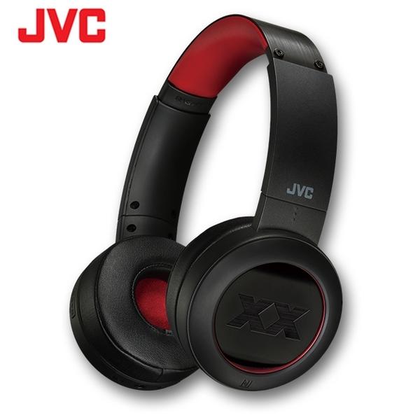 【曜德視聽】JVC HA-XP50BT 紅 無線藍牙立體聲頭戴式耳機 續航力40HR / 送收納袋