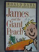 【書寶二手書T7/原文小說_GJE】James and the Giant Peach_Dahl, Roald/ Bla