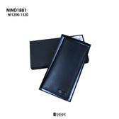 NINO1881 紳士必備 質感 禮物 皮夾 錢包 長夾 黑色 NI1200-1320