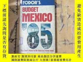 二手書博民逛書店FODOR S罕見Budget Mexico 85Y252403