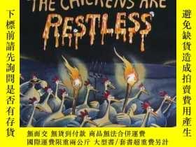 二手書博民逛書店英文原版繪本The罕見Chickens are Restless