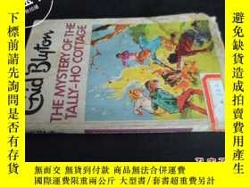 二手書博民逛書店THE罕見MYSTERY OF THE TAIIY-HO COT