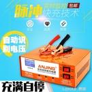 電瓶充電器12v24v大功率全自動通用型脈沖純銅可調自動應急 NMS 樂活生活館