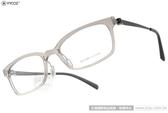 VYCOZ 光學眼鏡 KALY GRY-BLACK (透灰-黑) 完美工藝舒適簡約款 # 金橘眼鏡