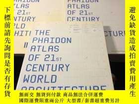 二手書博民逛書店THE罕見PHAIDON ATLAS OF 21ST CENTU