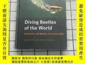 二手書博民逛書店Diving罕見beetles of the world : systematics and biology of