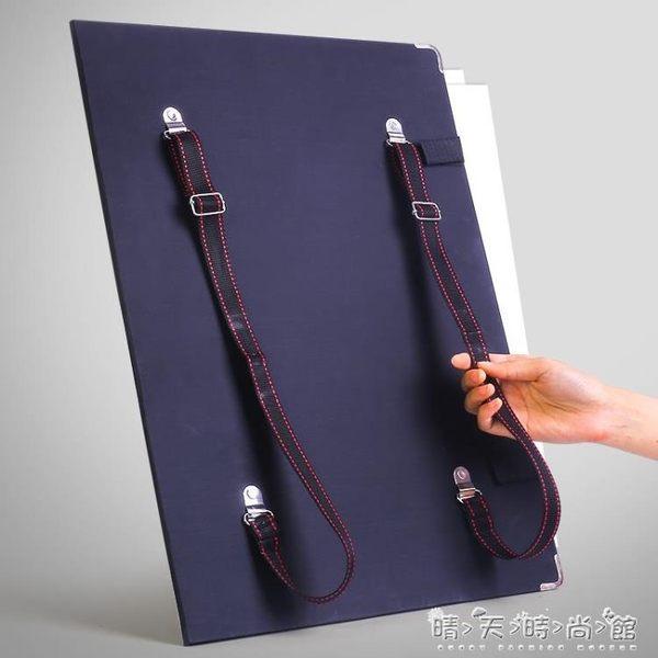 現貨出清 畫板素描寫生4k畫夾畫袋兒童初學者套裝戶外便攜式收納igo 晴天時尚館 10-11