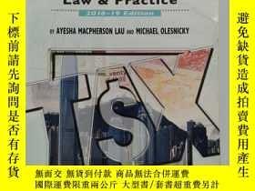 二手書博民逛書店Taxation:罕見Law and Practice, 2018–19 EditionY19139 Ayes
