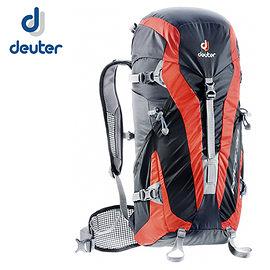 丹大戶外【Deuter】德國PACE 30 超輕量旅遊登山健行背包 3300315 黑/紅