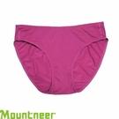 【Mountneer 山林 女透氣三角內褲 紫紅】 11K80/三角內褲/內褲/透氣內褲/排汗內褲/吸濕排汗