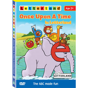 【Letterland】全方位字母拼讀互動光碟 Level 2~3 ─再加贈Once Upon A Time in Letterland(DVD)
