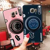 贈掛繩 三星 Galaxy S8 S9 Plus 藍光 相機 手機殼 氣囊支架 矽膠 軟殼 全包 防摔 保護套 手機套
