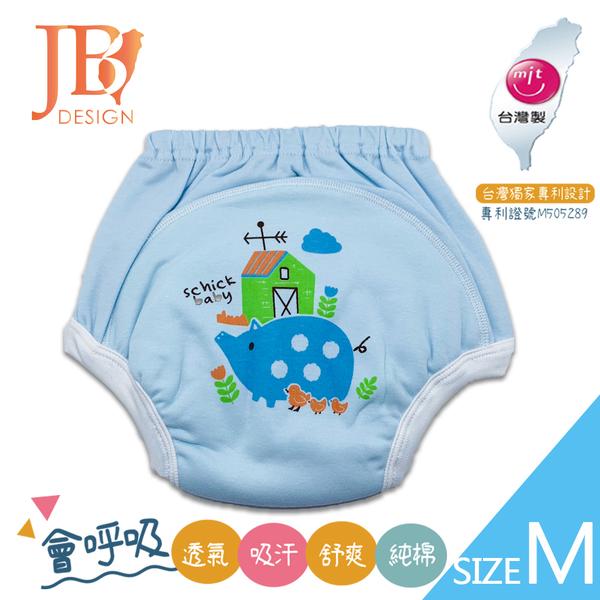 MIT台灣製嬰幼兒學步褲(學習褲)-小豬款M