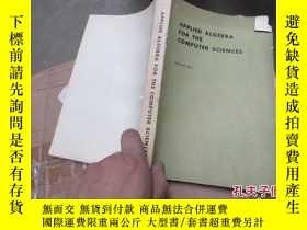 二手書博民逛書店applied罕見algebra for the compute