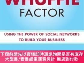 二手書博民逛書店The罕見Whuffie Factor: Using the Power of Social Networks t