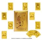 【震撼精品百貨】Hello Kitty 凱蒂貓~凱蒂貓 HELLO KITTY 黃金撲克牌#96175