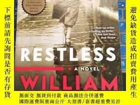 二手書博民逛書店Restless:罕見A Novel 永無寧日 by Willi