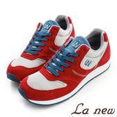 【La new outlet】復古運動鞋 (男221610350)