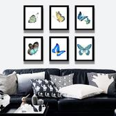 北歐風格現代簡約客廳裝飾畫沙發背景墻玄關組合裝飾掛畫壁畫墻畫WY 七夕節活動 最後一天