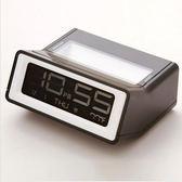 鬧鐘 簡約創意貪睡 可愛靜音個性床頭鐘 座鐘鬧錶 迷你鬧鐘電子鐘 米蘭街頭