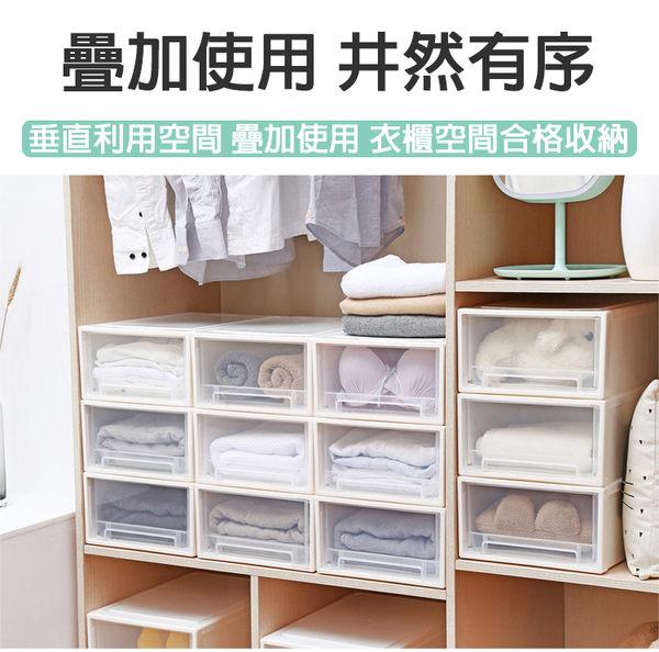 【團購world】多件優惠 20L抽屜式收納整理箱 抽屜收納盒 居家收納 衣物收納 團購世界