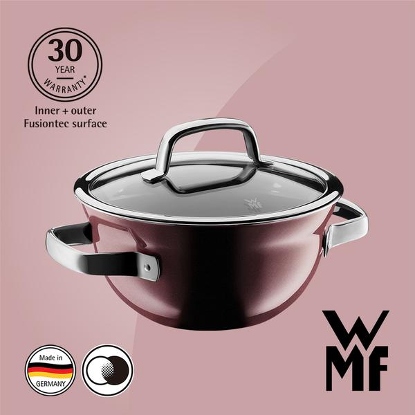 德國WMF Fusiontec 調理鍋 20cm 2.3L (赭紅色)