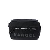 KANGOL 側背包 方包 黑色 6055302620 noC23