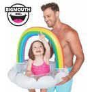 美國 Big Mouth 兒童造型游泳圈 快樂彩虹款