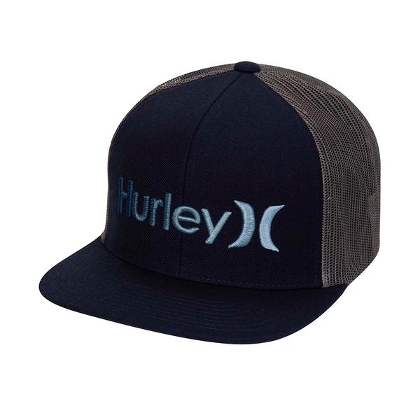 Hurley M OAO GRADIENT HAT OBSIDIAN/(THUNDERSTORM) 棒球帽-(黑)