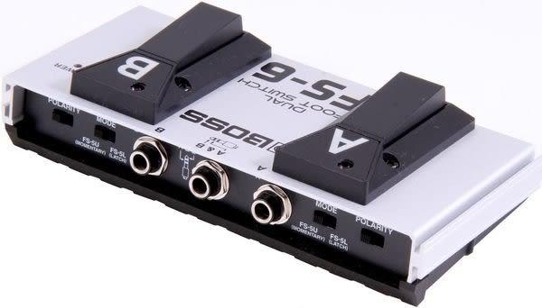 【金聲樂器廣場】全新 Boss FS-6 雙功能開關踏板 (適用鍵盤,節奏機,吉他音箱)~特價1950元!!