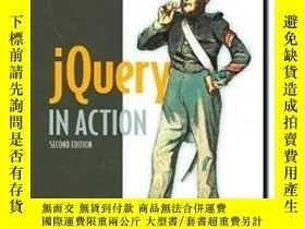 二手書博民逛書店Jquery罕見In Action, Second EditionY364682 Bear Bibeault