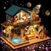 diy小屋子手工制作房子模型拼裝玩具禮物【步行者戶外生活館】