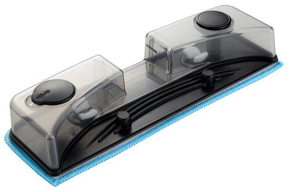 《送露營燈&熊本熊玻璃禮盒組》LG樂金 水魔力直立式無線吸塵器VS8708SWM(溼拖升級版)