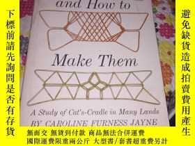 二手書博民逛書店string罕見figures and how to make themY24878 Caroline Fur