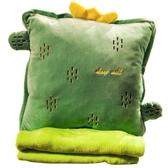 辦公室抱枕被子兩用靠枕汽車內靠墊毯子午睡枕頭多功能三合一神器